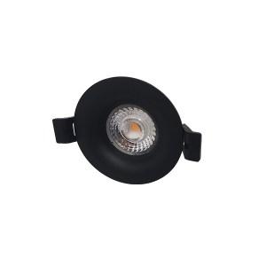 LED Camini CTA 8W 36° 2700-2000K zwart