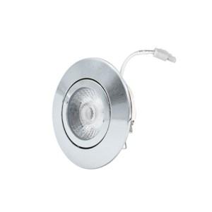 LED Downlight 230V 6W 36 2.700K chroom