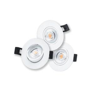 LED Camini Downlight rond kantelbaar dim