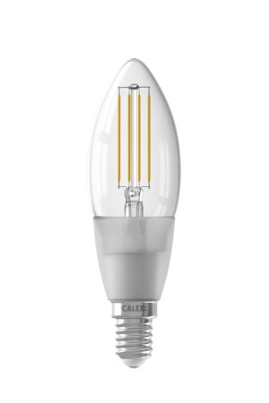 Calex Smart LED Filament Clear Candle-la