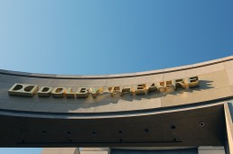 Dolby theatre main entrance