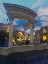 Inside the Caesar Palace forum. Thats no real sky by the way :)