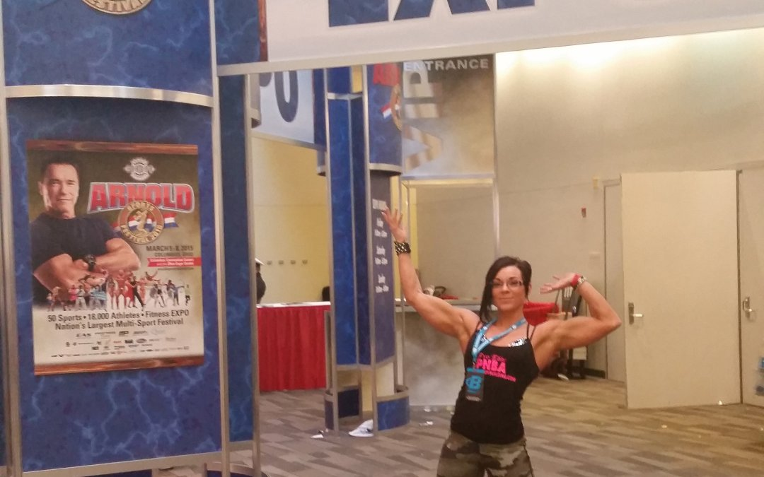 In One Month, Come See Angela Yeo at The Arnold, P4P Booth #532
