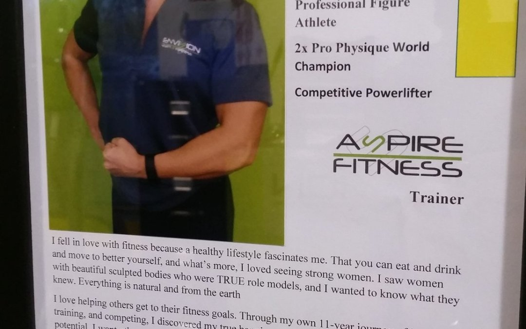 Trainer Profile at Aspire Fitness