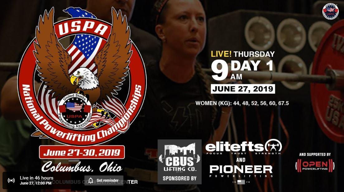USPA Nationals: Thursday Livestream