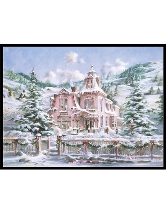 Rocky Mountain Christmas.Rocky Mountain Christmas Counted Cross Stitch Patterns Kits Color Symbols Charts
