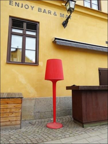 En glad lampa...