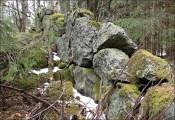 Sten på sten ... blir en stenmur...