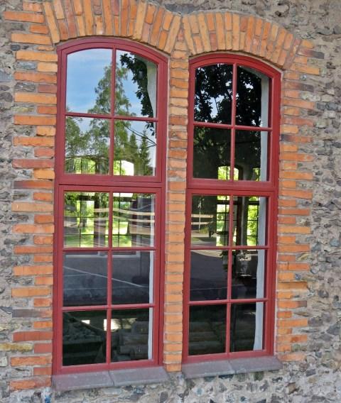 Lokstallet ... ett fint fönster...