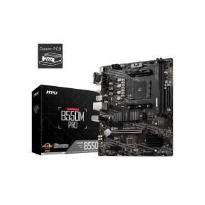01 MSI B550M PRO motherboard