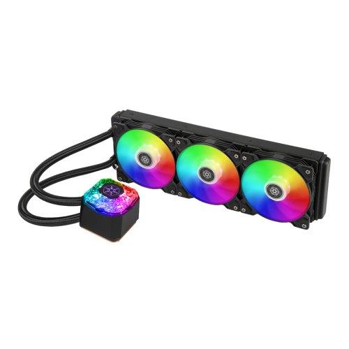 01 Silverstone IceGem 360 SST-IG360-ARGB CPU liquid cooler