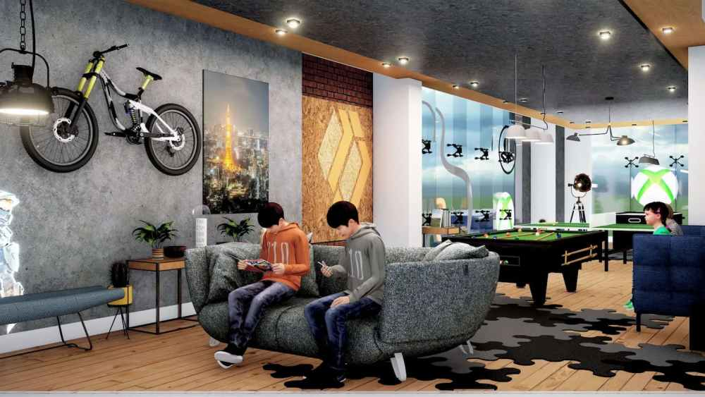 Digital Games Room View Atmosphere Happy Homes - Flats In Siliguri