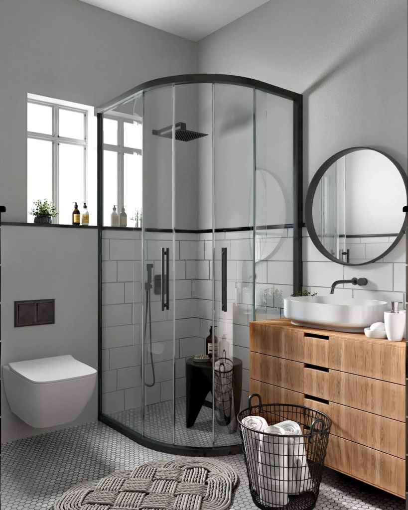 Master Bathroom View Of Atmosphere Happy Homes - Flats In Siliguri