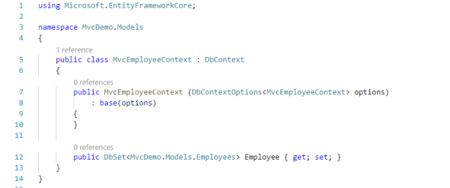 CRUD Operation With ASP NET Core MVC Using Visual Studio