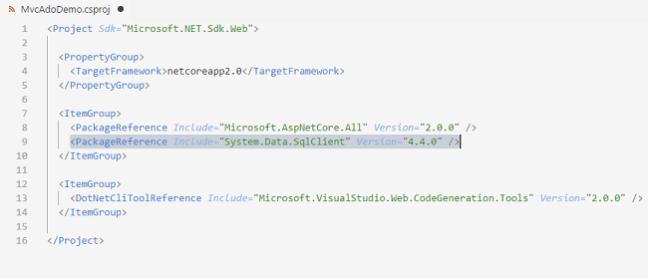 CRUD With ASP.NET Core