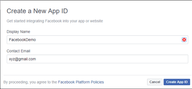 Authentication Using Facebook in ASP NET Core 2 0 - DZone Security