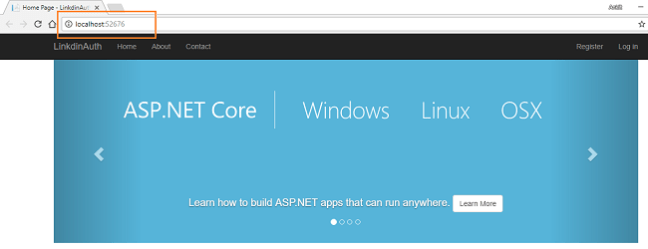 Authentication Using LinkedIn In ASP.NET Core