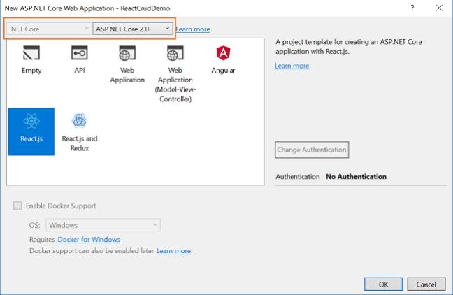 ASP NET Core - CRUD With React js And Entity Framework Core - Ankit