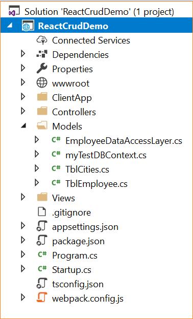 ASP NET Core: CRUD With React js and Entity Framework Core - DZone