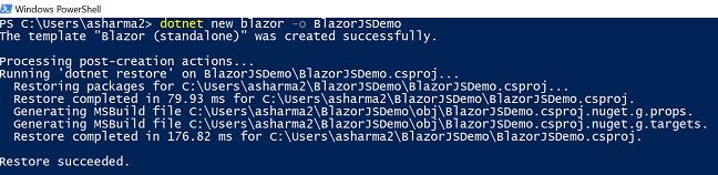 JavaScript Interop in Blazor - Ankit Sharma's Blog