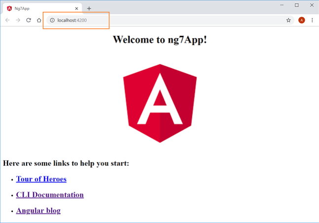 Getting Started With Angular 7.0