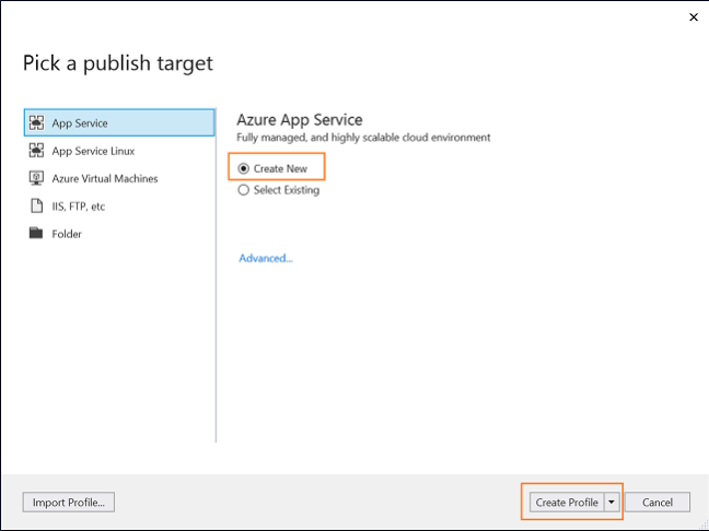 Deploy Blazor app on Azure