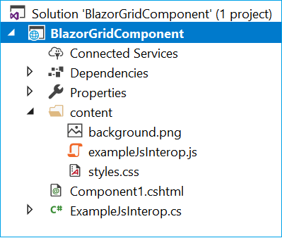 BlazorGrid – A Reusable Grid Component For Blazor - Ankit Sharma's Blog