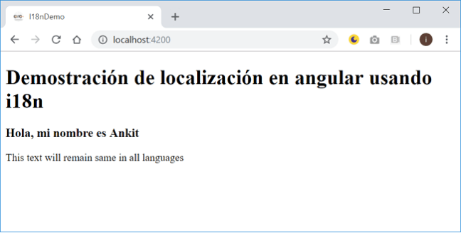 Localization In Angular Using i18n Tools
