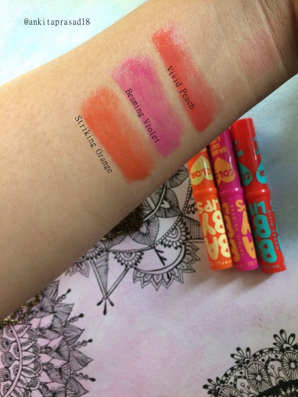 maybelline baby lips bright out loud (natural light)