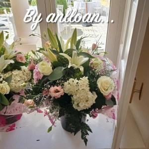 007 ramo de flor romantico