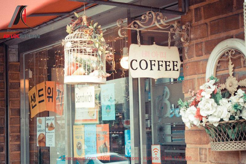 Mẫu thiết kế cafe phong cách Vintage 3