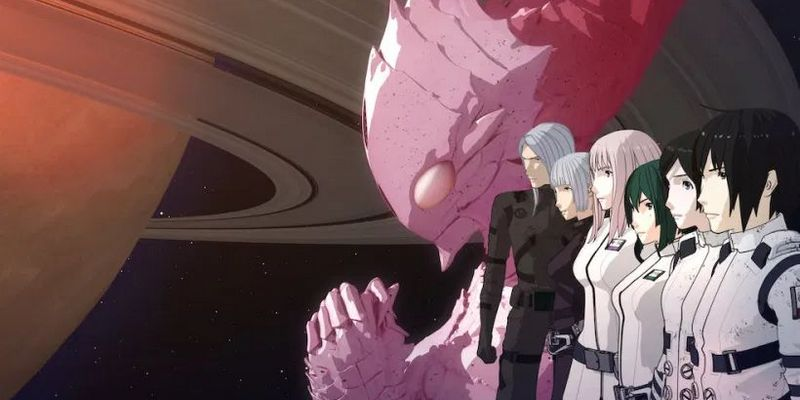 KNIGHTS OF SIDONIA: THE STAR WHERE LOVE IS SPUN GANHA TRAILER DE 4 MINUTOS