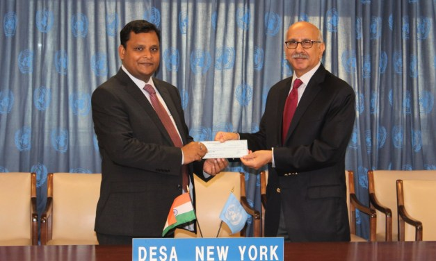 India contributes US$100,000 for fund to ensure developing countries' role in international cooperation on critical tax matters
