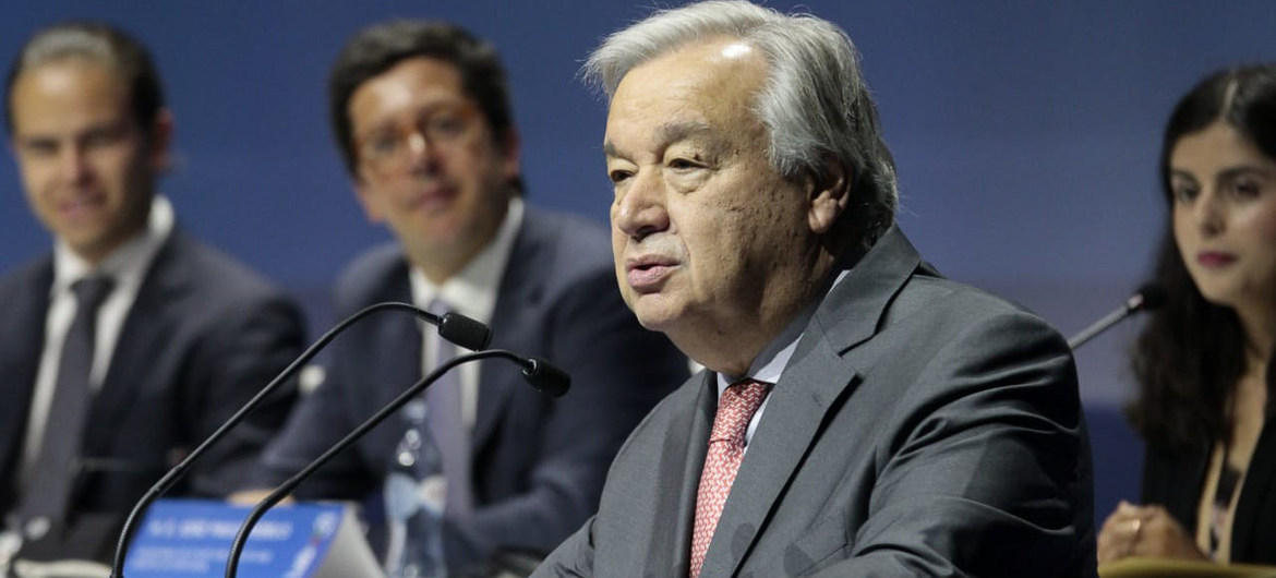 It's time we took a seat 'at your table': Guterres calls on world youth to keep leading climate emergency response