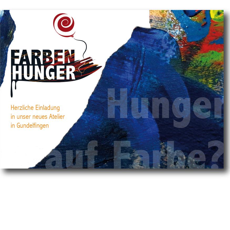 Postkarte für Farbenhunger