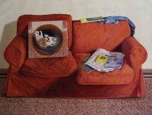 The Sofa. 70cm x 90cm, oil on linen.