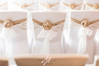 Middlesex-uxbridge-London-weddding- Photographer - Wedding-photography-christchurch-harbour-hotel-hessian and lace chair decoration