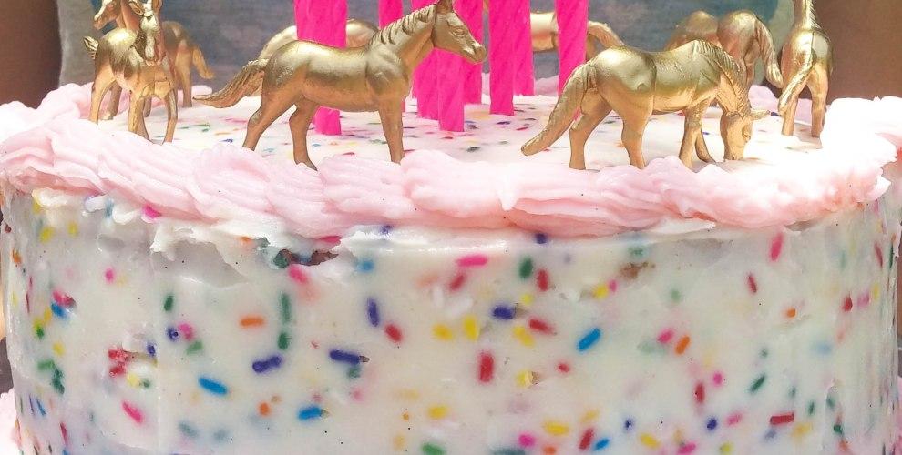Gold figurine cake topper