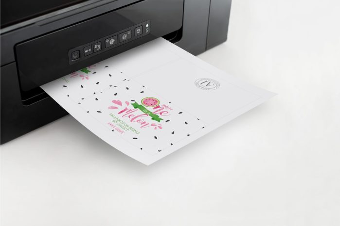 Printable Watermelon One in a Melon Thank You Card