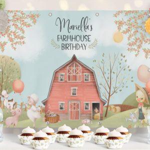 Printable Barnyard/Farmhouse Backdrop- 4 x 6