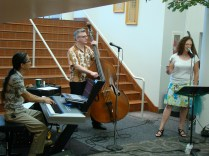 Anna & the Consequences at the Grandview Library Concert Series 5/3/12