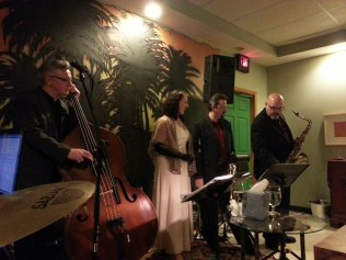 Anna & the Consequences Dinner Concert at Cafe Bella 2/16/12