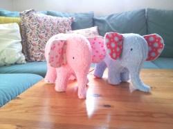 Elefanten Frottee