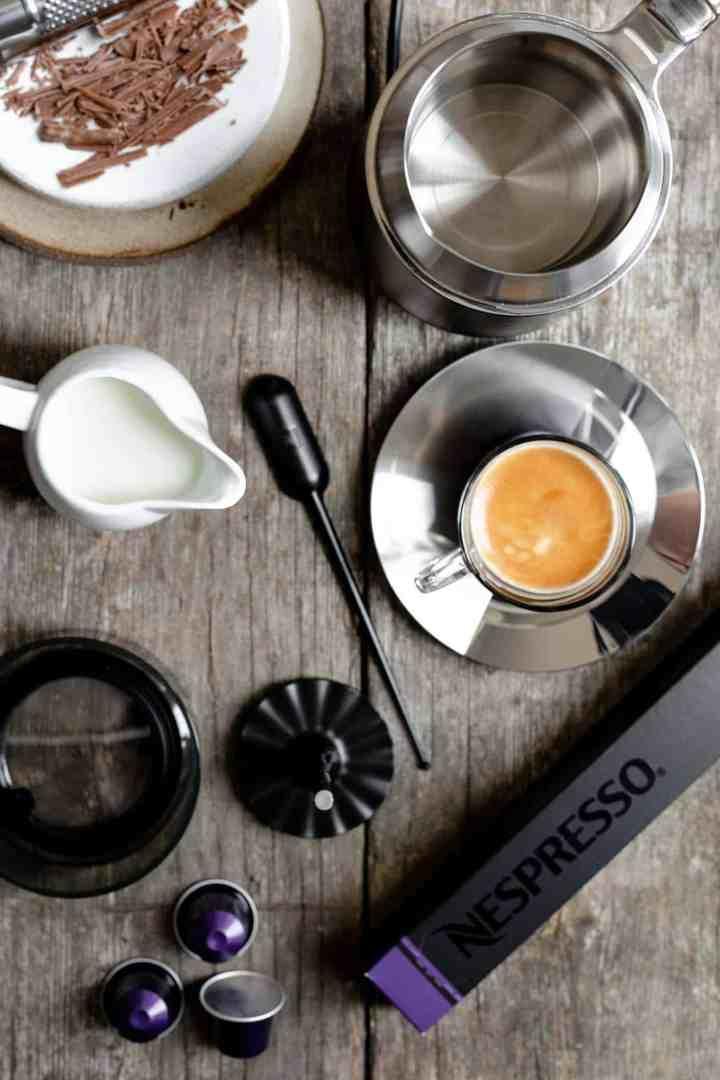 Nespresso Barista coffee recipes #coffee #icednitro #cafeviennois | via @annabanana.co
