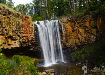Image of Trentham Falls from a chasing waterfalls day trip in Victoria
