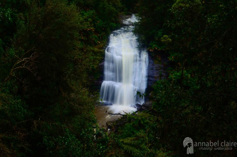 Little Aire Falls visited on a Chasing Waterfalls trip to Apollo Bay