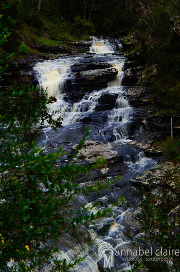 Image of Swallow Cave Falls (Upper Sheoak Falls) during Chasing Waterfalls trip to Lorne