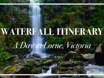 Waterfall Itinerary for a day in Lorne, Victoria