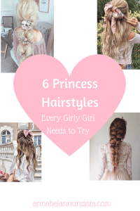 6 Princess Hairstyles | Girly Hairtysles Lookbook