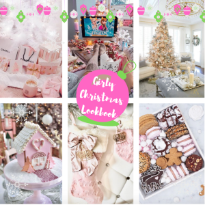 Girly Pink Christmas Lookbook | Blogmas Day 8